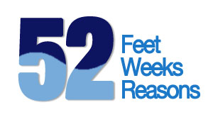 52 Feet, 52 Reasons, 52 Weeks