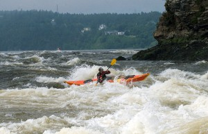 Kayak in the Reversing Falls